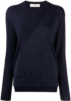 Pringle Two-Tone Crew-Neck Sweater