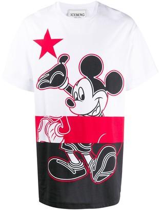 Iceberg Mickey Mouse jersey T-shirt