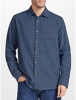 John Lewis Grid Check Shirt, Blue