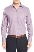 Peter Millar Men's 'Hyde' Regular Fit Micro Houndstooth Sport Shirt