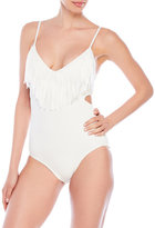 Vince Camuto Fringe One-Piece Swimsuit