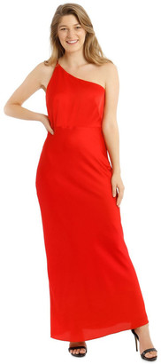 Collection One Shoulder Bias Cut Dress
