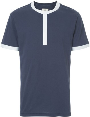 Kent & Curwen contrast trim T-shirt
