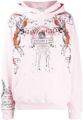 Givenchy Iris Story printed hoodie