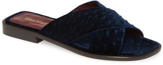 Sies Marjan Cross Strap Slide Sandal