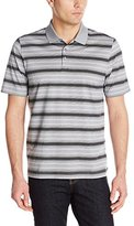 Cutter & Buck Men's Great Basin Mercerized Stripe Polo
