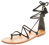Soludos Leather Lace-Up Sandal