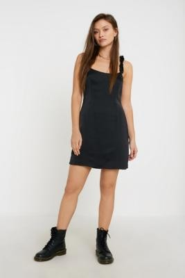Urban Outfitters The East Order Tammy Mini Dress - black XS at
