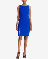 Lauren Ralph Lauren Petite Zipper Sheath Dress