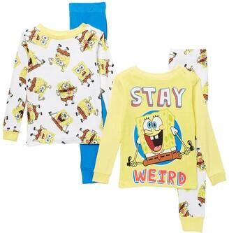 AME Spongebob Print Cotton Pajama Set - Set of 2