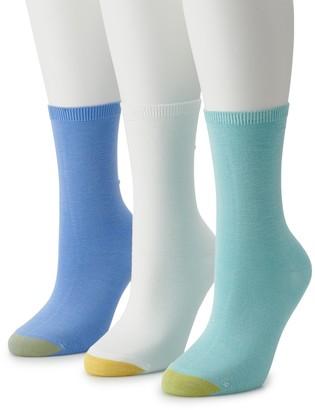 Gold Toe Women's GOLDTOE 3-pack Crew Socks