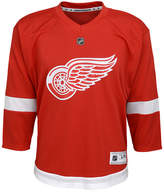 adidas Detroit Red Wings Blank Replica Jersey, Big Boys (8-20)