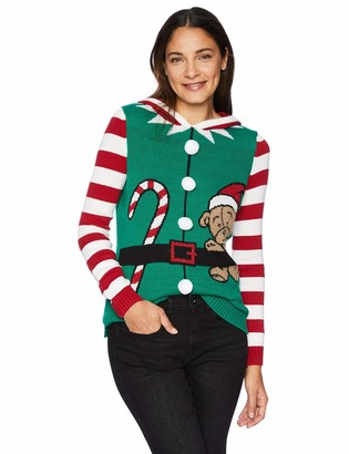 Ugly Christmas Sweater Company Women's Assorted Pullover Xmas Sweaters-Juniors