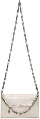 Stella McCartney Off-White Holographic Mini Falabella Crossbody Bag