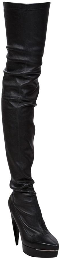 Lanvin Vault Thigh high boots