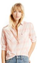 Levi's Women's Workwear Plaid Button-Down Shirt
