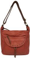 ST. JOHN'S BAY St. John's Bay Washed Flap Pocket Hobo Bag