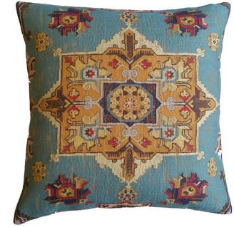 Capa Home Medallion Pillow, Blue