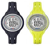 Timex Ironman Sleek | Mid-Size 50-Lap Recall Stopwatch Memory Timer Sport Watch