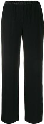 EA7 Emporio Armani Contrast Waist Trousers