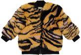 Kenzo Faux Fur Tiger Print Jacket