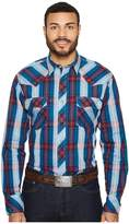 Roper 1253 Cider Check Long Sleeve Top Men's Long Sleeve Pullover
