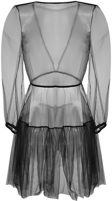 Alchemy Sheer Skater Dress