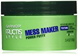 Garnier Hair Care Fructis Style Power Putty Mess Maker, 3.4 Ounce