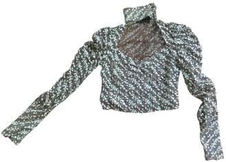 Maria Grachvogel Brown Cotton Top for Women