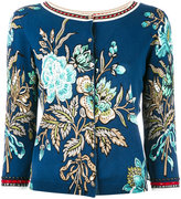 Twin-Set embellished floral cardigan - women - Cotton/Viscose - XS