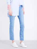 MiH Jeans Daily slim-fit high-rise jeans