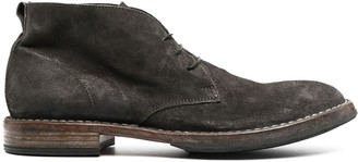 Moma Lace-Up Desert Boots