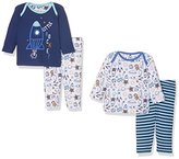 Mothercare Baby Boys' Rocket-2 Pack Pyjama Sets,6-9 Months