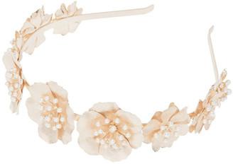 Forever New Faith Frosted Flower Headband