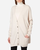 N.Peal Oversize Cashmere Cardigan