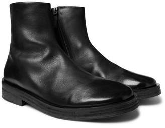 Marsèll Listone Burnished-Leather Chelsea Boots
