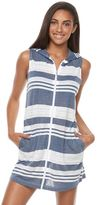 Apt. 9 Women's Striped Hooded Cover-Up