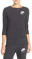 Nike Women's 'Gym' Crewneck Sweatshirt