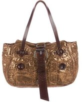 Jamin Puech Metallic Shoulder Bag
