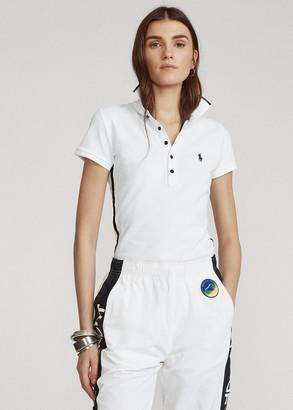 Ralph Lauren Beaded-Trim Polo Shirt