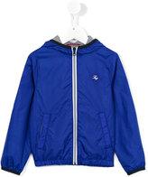 Fay Kids - zipped jacket - kids - Cotton/Polyamide - 8 yrs