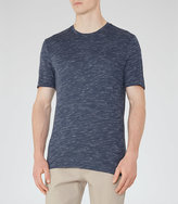 Reiss New Collection Fordon Flecked Crew-Neck T-Shirt