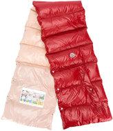 Moncler padded gilet scarf