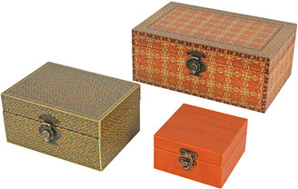 A&B Home Set Of 3 Boxes