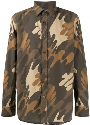Tom Ford camouflage print T-shirt