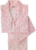 Cath Kidston Floral Spot Brushed Flannel PJ Set