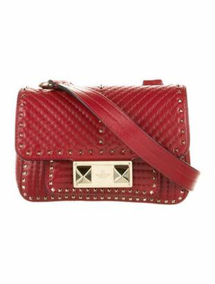 Valentino Ziggy Stud Mini Crossbody Bag Red
