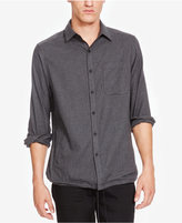 Kenneth Cole New York Men's Molnar Heathered Pinstriped Shirt