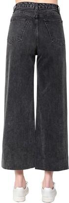 Rag & Bone Haru Cotton Denim Wide Leg Jeans