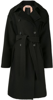 No.21 Belted Double Breasted Coat